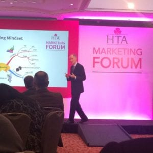 The HTA Marketing Forum - Nigel Temple talks about marketing strategy