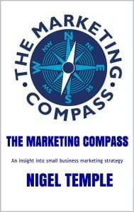 The Marketing Compass book cover