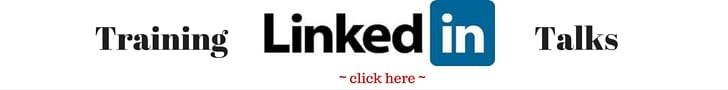 LinkedIn training and talks