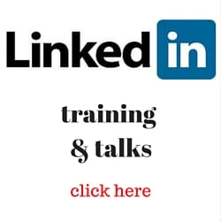 LinkedIn training and talks