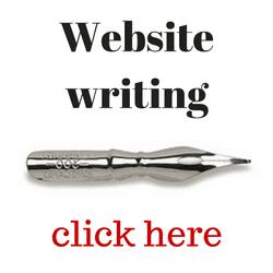 Website writing service