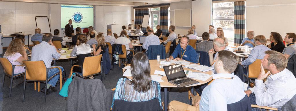 Nigel Temple delivering a digital marketing presentation